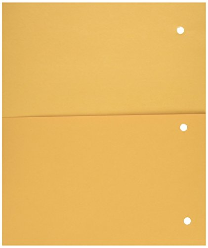 Mead Add-a-Pocket Dividers, Yellow, 8 Pack (33508)