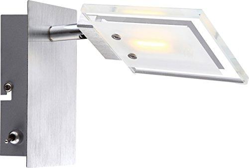 Globo Aurele Projecteur à LED Chromé