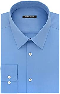 Van Heusen Men's Dress Shirt Slim Fit Flex Collar Stretch...