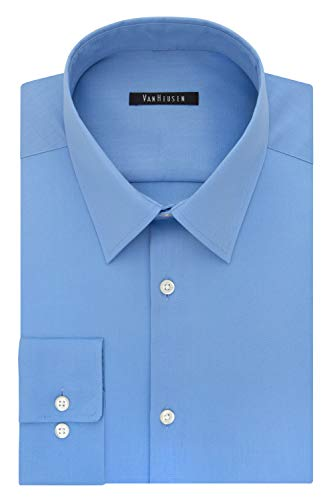 Van Heusen Men's Slim Fit Flex Collar Stretch Dress Shirt (Blue Frost or Sunlight) $9 + free shipping w/ Prime or on orders over $25