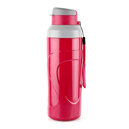 Cello Puro Steel-X Quick Flip Insulated Water Bottle,700ml. (Red)