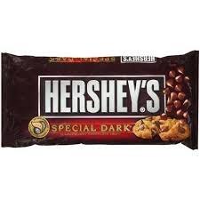 Hershey's Special Dark Mildly Sweet Dark Chocolate Baking Chips, 12-Ounce Bag (Pack of 2)