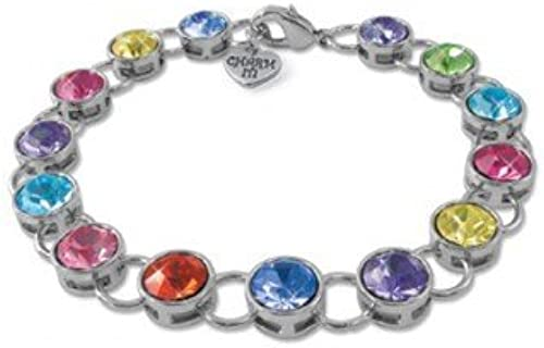 Charm It  Acrylic Link Bracelet by Charm It