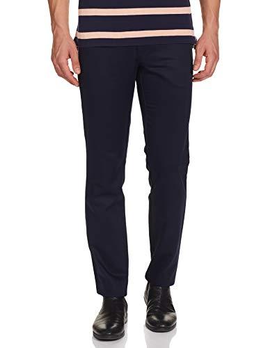 Van Heusen Men's Drop Crotch Slim Business Casual Pants