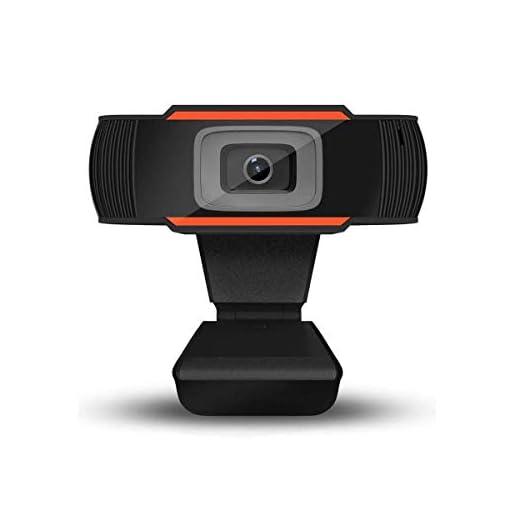 Webcam PC 1080P Full HD con Micrófono Estéreo, Portátil Cámara Web USB 2.0 Reducción de Ruido,Web CAM de Enfoque Fijo… 1