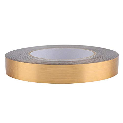 Cinta decorativa de PVC Láminas para el suelo Línea de la grieta Etiqueta adhesiva Azulejo de esquina autoadhesivo(02-2cm)