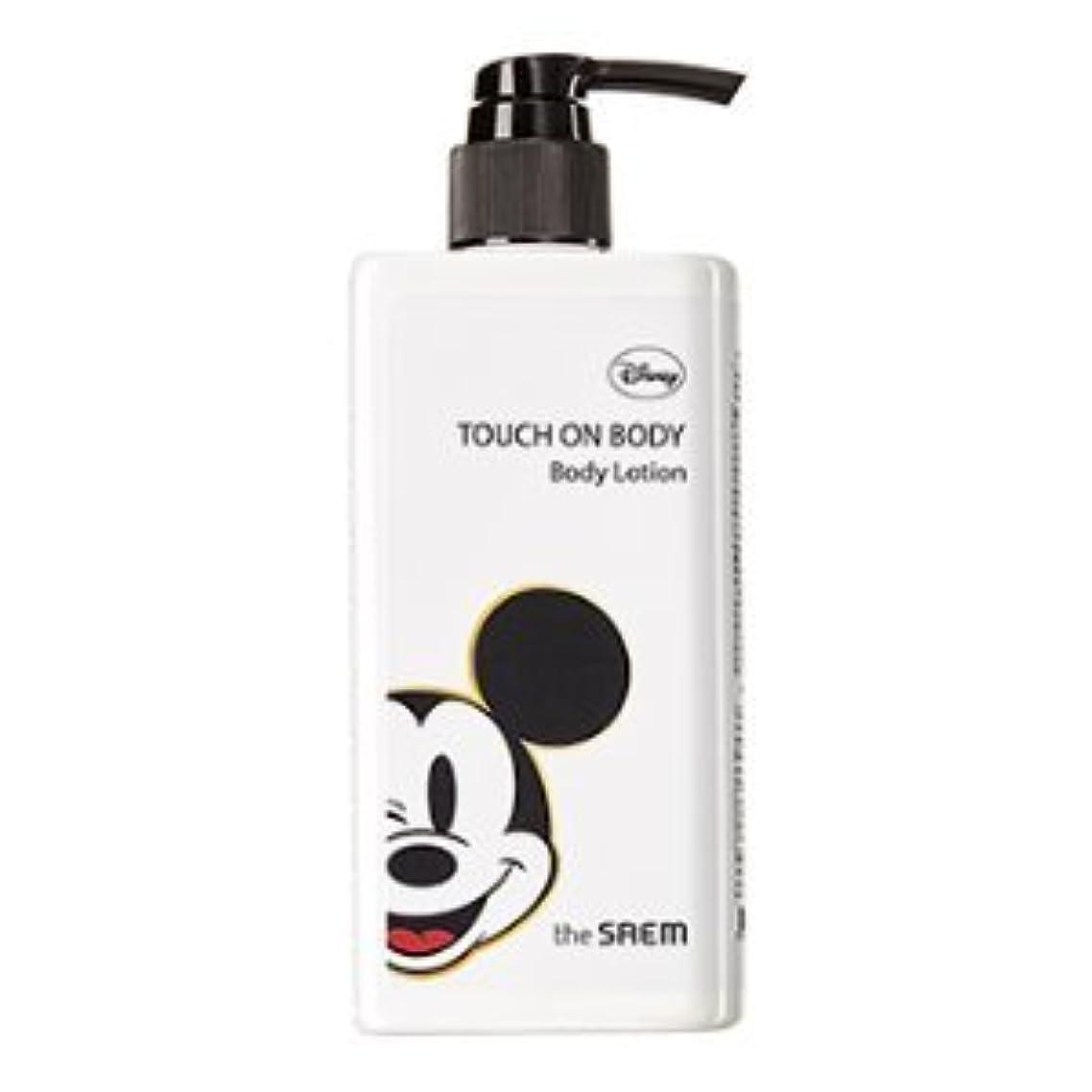 しつけあからさまスチュアート島(The Saem X Disney )Touch On Body Acerola Body Lotion 300ml / ザセム タッチオンボディーアセロラボディーローション (ディズニーエディション) [並行輸入品]