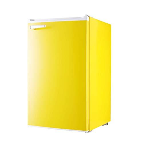 81 litros Retro refrigerador pequeño Puerta Individual congelador Independiente refrigerado hogar pequeño apartamento pequeño Dormitorio
