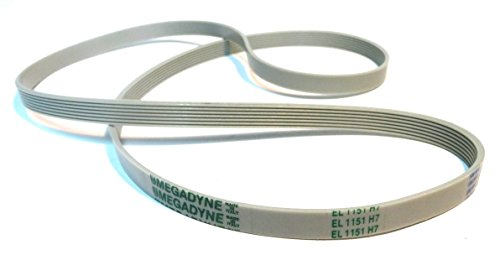 Megadyne - Cinghia per lavatrice EL 1151 H7