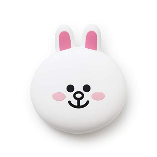 Line Friends CONY Character Cute Small Silicone Coin Purse Card Wallet Pouch, White