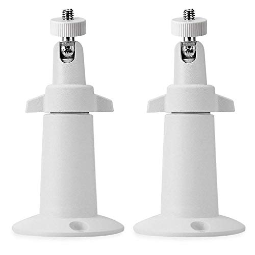(2 Pack, Metal), BFYTN Security Camera Metal Wall/Ceiling Mount, Adjustable Indoor/Outdoor Mount Compatible with Arlo, Arlo Pro 2 3, Arlo Ultra CCTV Camera and Compatible Camera with 1/4 Screw Head