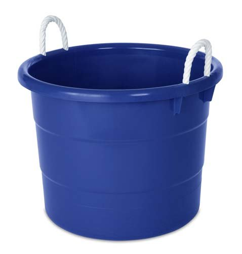 HOMZ 0402PKDC.02 Rope Handle Tub