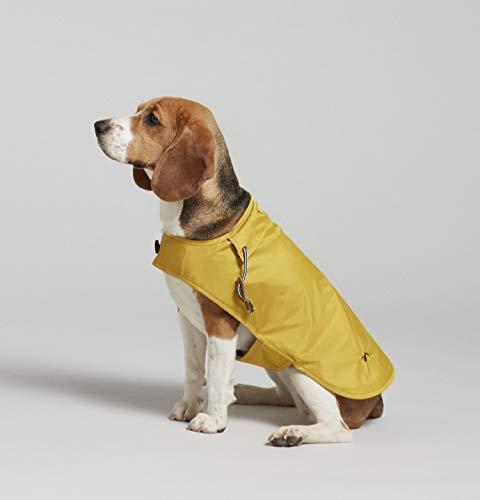 Joules hondenjas regenjas mustard geel 55,5 CM