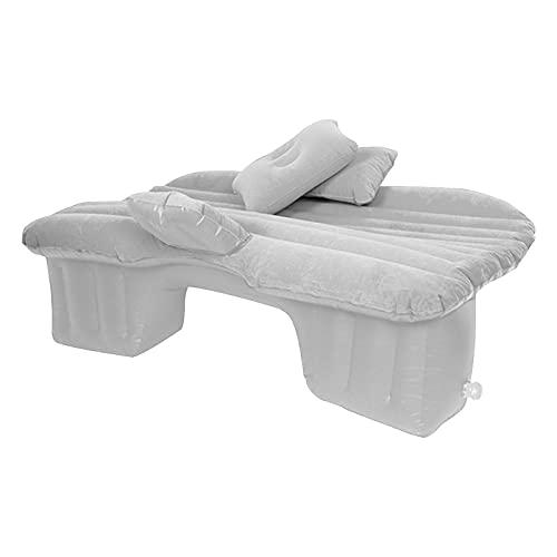 Vigcebit 1 Materassino Gonfiabile per Auto, Cuscino per Dormire Portatile per Sedile Posteriore, materassino per Riposo in Campeggio, Adatto per Camion SUV Universale, Minivan (3 Colori)