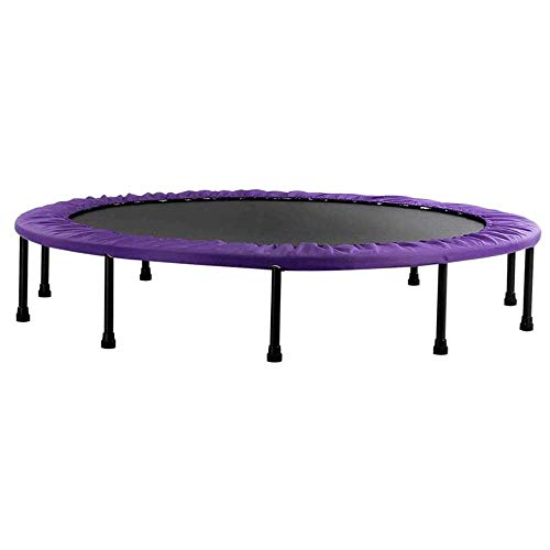 Home Exercise Equipment Trampoline 60Inch, Folding Indoor Trampolines with Safety Pad, Fun Mini Fitness Trampoline for Indoor/Gar(Rebounder Trampoline) Fitness