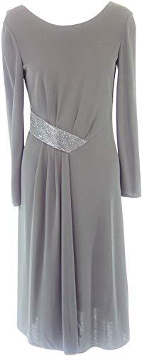 Armani Collezioni Damen Kleid 6XMA61 Herstellergr 42 DE 36 Schwarz Straß