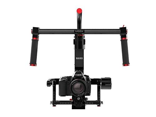 Moza MLP2 Premium Handheld Gimbal for Mirrorless Cameras and DSLRs, Black