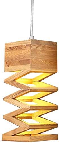 Moderne Nordic Lampe Retro-Kronleuchter Holz Lampe Restaurant Bar Kaffee Catering-LED-Kronleuchter,A