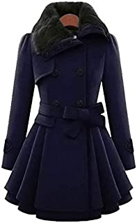 Winter Coat Women Wool Blends Coats Female Jacket Winter Woman Coat Warm Windbreaker Casual Thick Coats mm