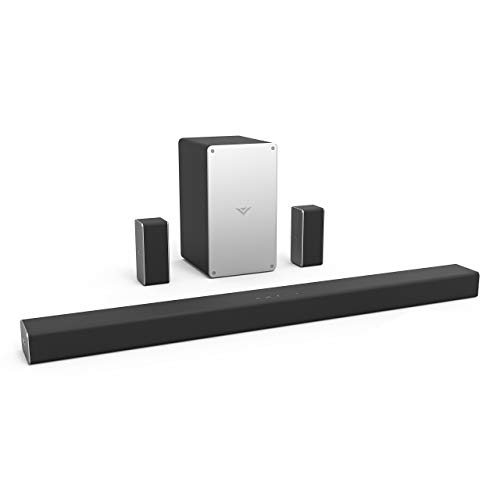 VIZIO SB3651-F6 36' 5.1 Home Theater Sound Bar System, Black (Renewed)