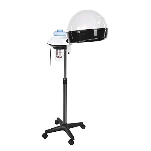 FILFEEL Salon Hair Steamer and Conditioning Spa Machine Rolling Stand Hooded Hair Coloring Perming Steamer, 450W & 750W