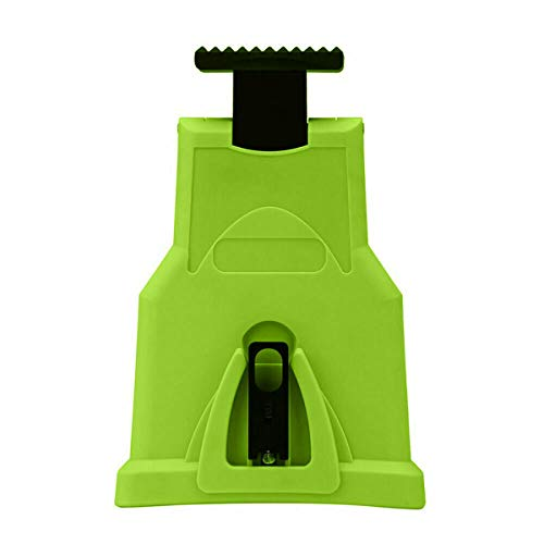 LHBBHSH Chainsaw Teeth Sharpener Chainsaw Sharpener Bar-Mount Chainsaw Chain Sharpening Kit Green Red s (Color : Green)