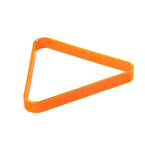 GEREP Dreieck Billard Ball Rack Wunderschön gestaltet,Billard-Triangel stark und langlebig