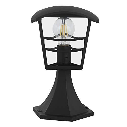 INSPIRE - Sockelleuchte aus Aluminium PALAMA - Für E27 Glühlampe - IP44 - Schwarz