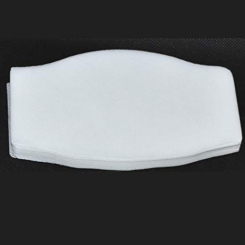 Filtro TNT Grande para mascarilla 16x9.5cm. Muy transpirable, hidrofugo.100 capas de tejido no tejido de 50gr, ENTREGA EN 24H