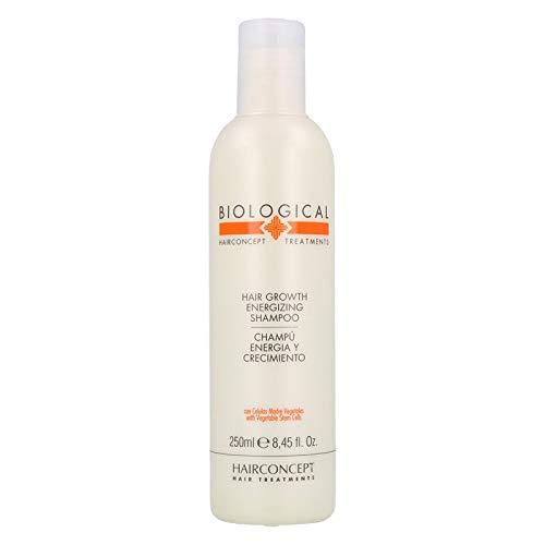 Hair Concept Biological, Champú Energizante y Crecimiento - 250 ml