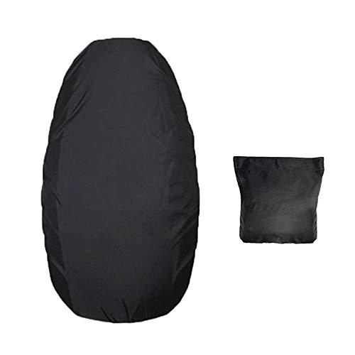 KKmoon Sitzbezug für Scooter, wasserdicht, 210D Oxford, PU-Leder, XL, 98 x 68 cm, Schwarz L(88 x 58cm) Schwarz