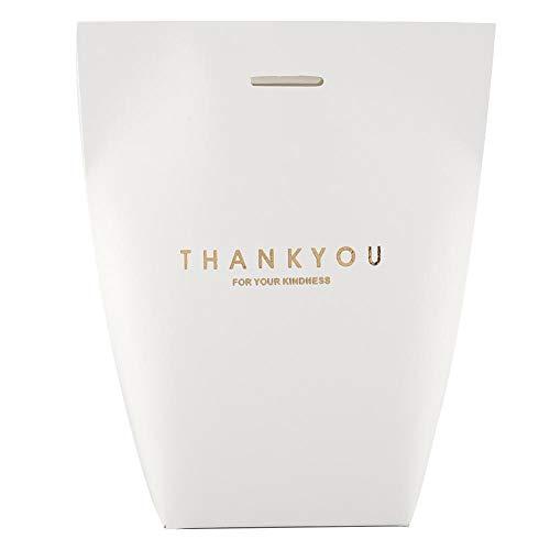 20 stks papieren geschenkzak bonbondoos, bruiloft baby verjaardag/douchegift tas/gunst dozen/chocolade traktatie geschenkdozen/kerstversiering (wit)