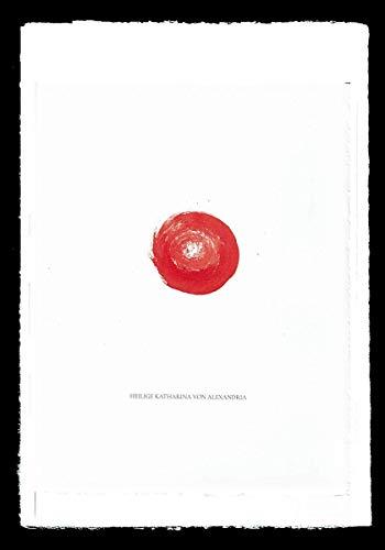 Wandbild personalisiert Namenspatron Heiligenbilder mit Namen bestellen handgemalt originelle Geschenkidee z.B. für Katharina Karin Sabine Georg