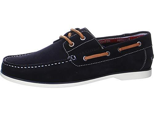 Daniel Hechter Chaussures bateau pour homme., bleu, 41 EU
