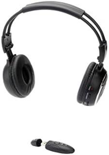 Ednet 2.4 GHz Wireless Stereo Headset, Black - 4040587831280