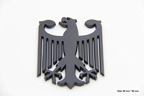 B425 Adler Wappen Deutschland Emblem Kfz Badge auto Bundesadler aufkleber 3D car Sticker
