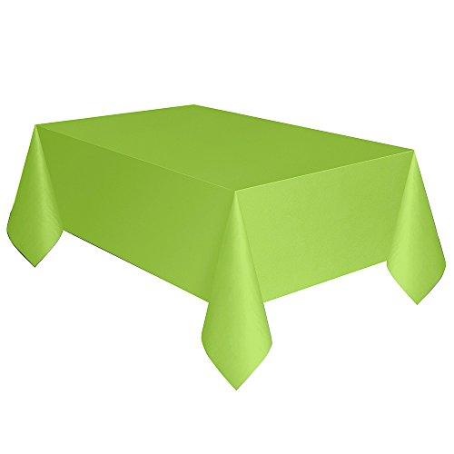 9oz Neon Green Paper Cups, 14 stuks Rechthoekige kunststof tafelkleed 137 x 274cm Neon Groen