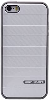iPhone 5S 5 Case, Body Glove Smoke / White Carbon Fiber Rise Case For Apple® iPhone 5S 5