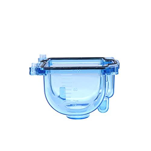 PWK PZ Carburador Flotador Tazón de aceite transparente compatible para PWK I/II/III PWK IV/KSR EVO PZ26/27/30/32 (Color: C Azul)