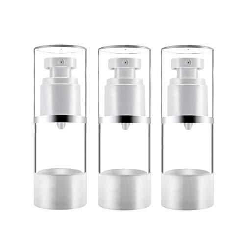 N/A 15 ML - 100 ML Bouteille sous Vide Protection Solaire Spray Spray Toner Fond Pressé Bouteille CosméTique