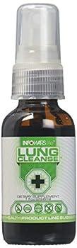 Infowars Life - Lung Cleanse Plus Spray  1 fl oz  – Organic Herbs & Essential Oils for Respiratory Support – Vegan Non-GMO & Gluten Free
