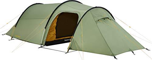 Nordisk Oppland PU veelzijdige tent, tunnelconstructie, nylon ripstop met polyurethaan coating, UV 45+ filter, verschillende uitvoeringen, 2-, 3-persoonstent, groen/dusty green