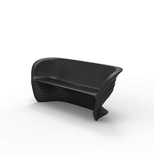 Vondom Biophilia sofá de exterior negro