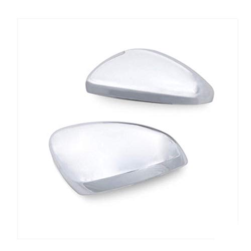 Auto ABS cromado espejo retrovisor de coche cubierta de protección de espejo retrovisor pegatinas para Peugeot 208 2014-2017 accesorios