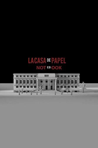 La Casa De Papel: Notebook, Journal, Notepad ( 100 White pages, Lined paper, 6 x 9 size )
