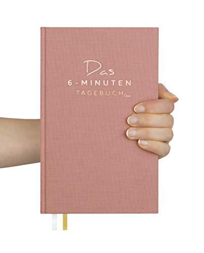 Das 6-Minuten-Tagebuch PUR (die Nachfolgeversion) | Erfolgs-Journal, Dankbarkeits-Journal | Mix aus Notizbuch und Tagebuch | Täglich 6 Minuten für mehr Erfolg, Gelassenheit und Achtsamkeit (Altrosa)
