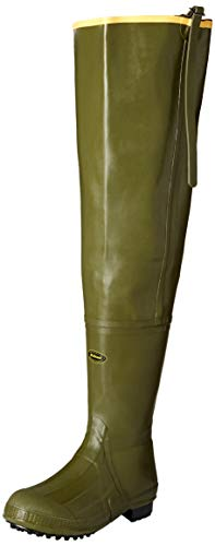 Lacrosse mens Big Chief 600G fishing wader boots, Od Green, 10-Medium US