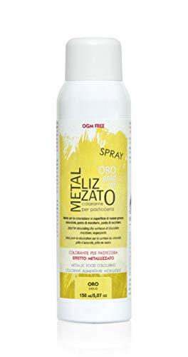 Colorante spray metallizzato, ORO 150 ml