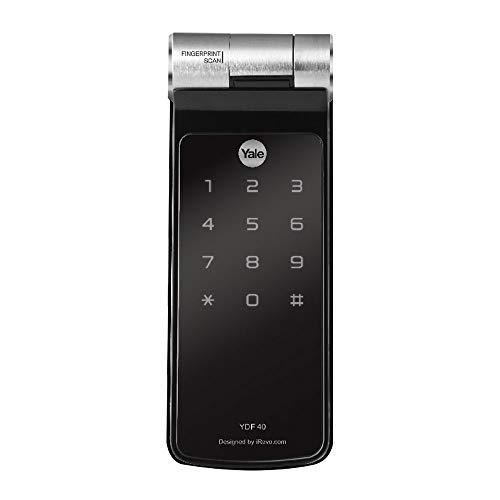 Fechadura Digital Yale YDF 40 com Biometria, compatível com Alexa