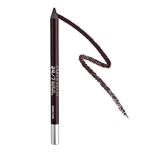 Urban Decay 24/7 Glide-On Eyeliner Pencil, Demolition - Deep Brown with Matte Finish - Award-Winning, Waterproof Eyeliner - Long-Lasting, Intense Color